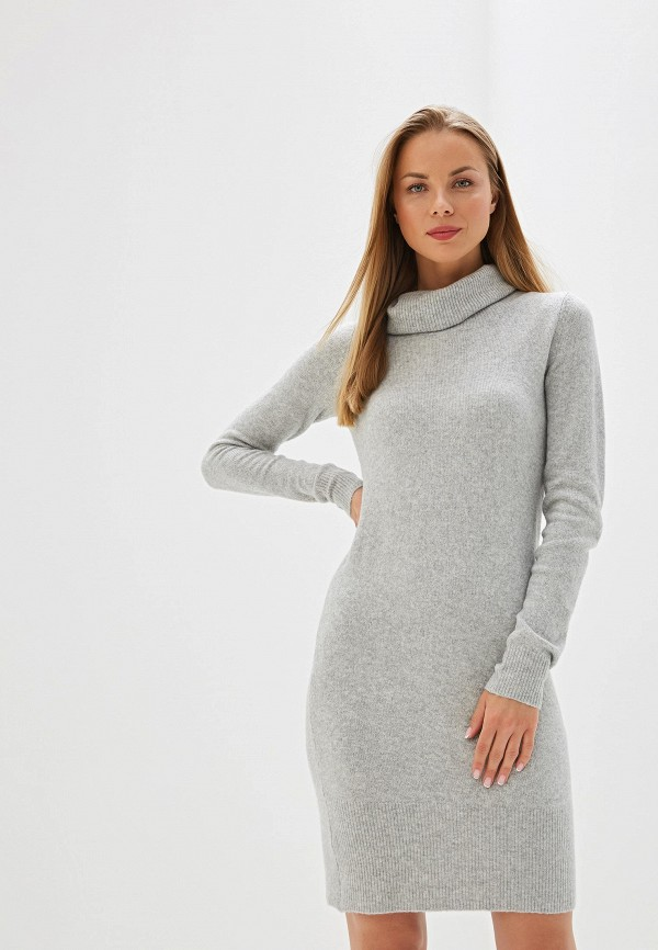 женское платье tom tailor, серое