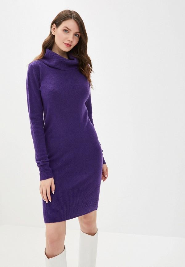 женское платье tom tailor, фиолетовое