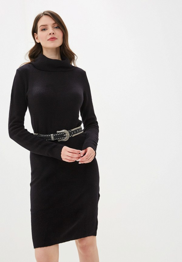 женское платье tom tailor, черное
