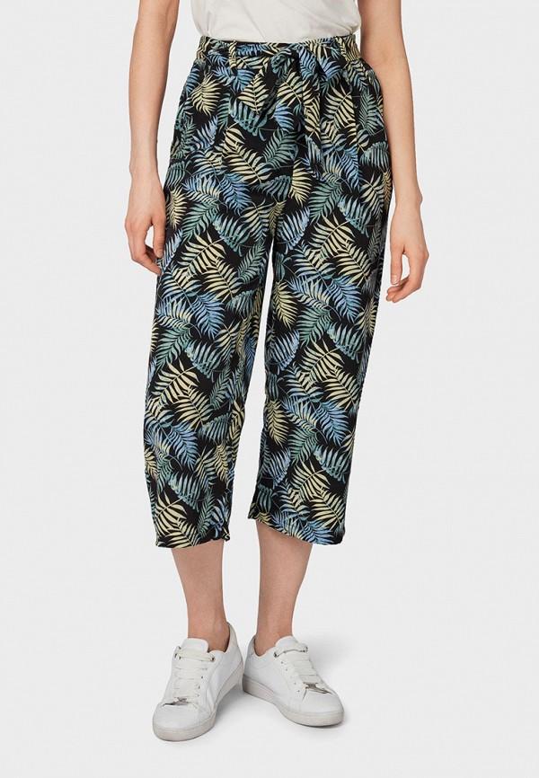 женские повседневные брюки tom tailor, разноцветные