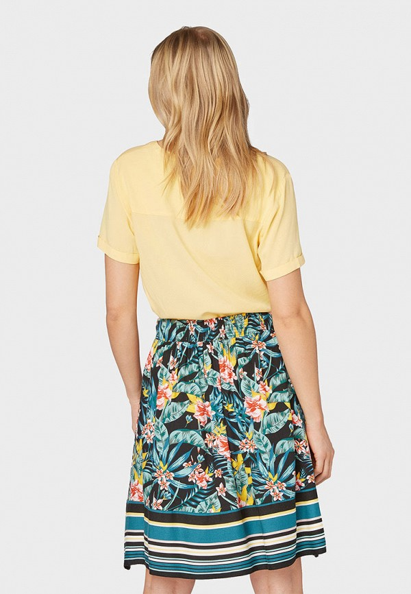 Фото 3 - Женскую блузку Tom Tailor желтого цвета