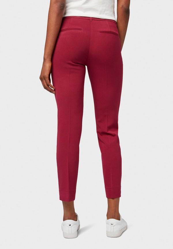 Фото 3 - женские брюки Tom Tailor красного цвета