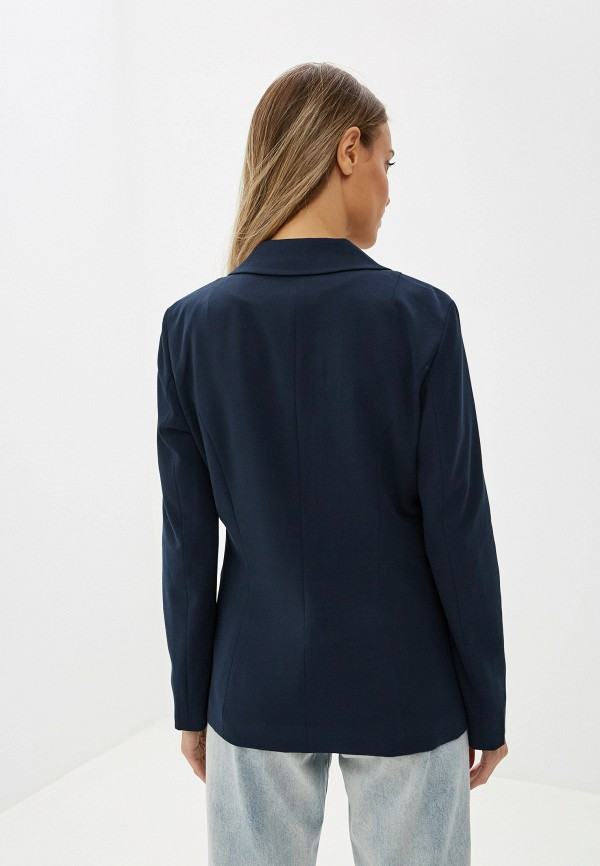 Фото 3 - женский пиджак Tom Tailor синего цвета