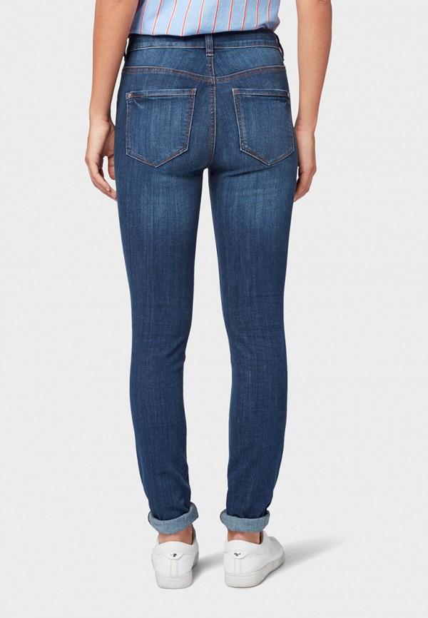 Фото 3 - женские джинсы Tom Tailor синего цвета