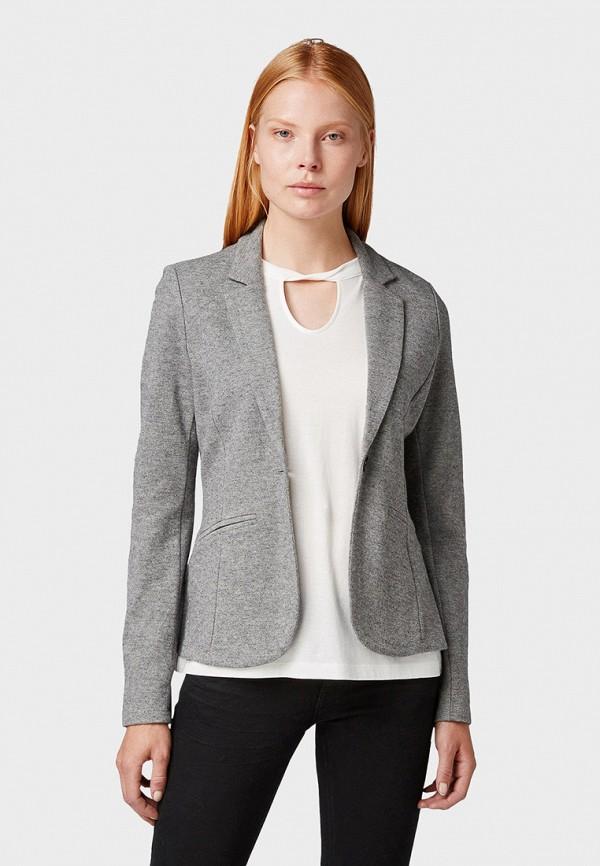 Пиджак Tom Tailor Tom Tailor TO172EWGCEJ0 цена