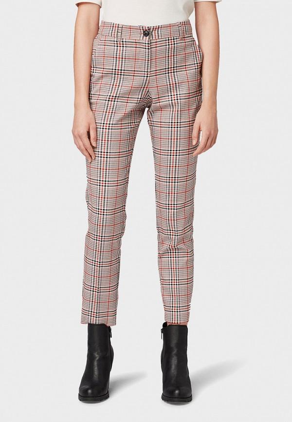 женские брюки tom tailor, бежевые