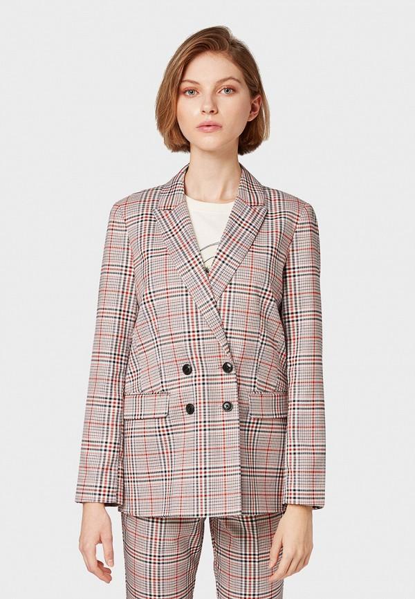 Пиджак Tom Tailor Tom Tailor TO172EWGCFB0 цена