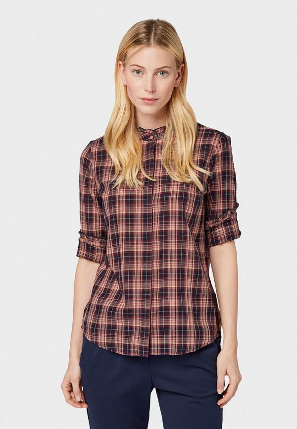 Рубашка Tom Tailor Tom Tailor TO172EWGIRS7 рубашка regular tom tailor р s int 46 ru 37