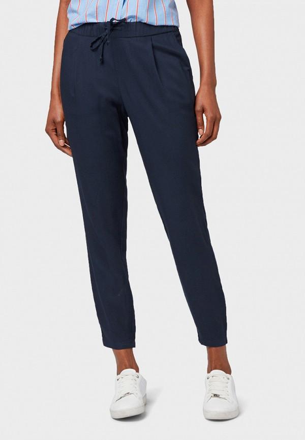 женские брюки tom tailor, синие