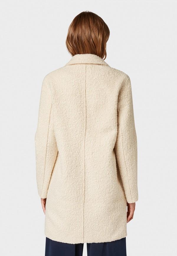 Фото 3 - женское пальто или плащ Tom Tailor бежевого цвета