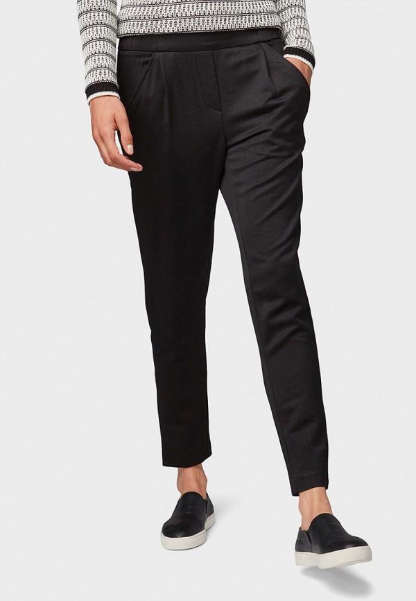 женские классические брюки tom tailor, серые