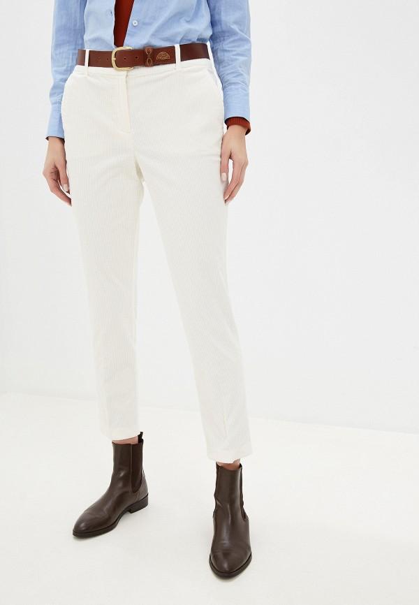 женские повседневные брюки tom tailor, белые