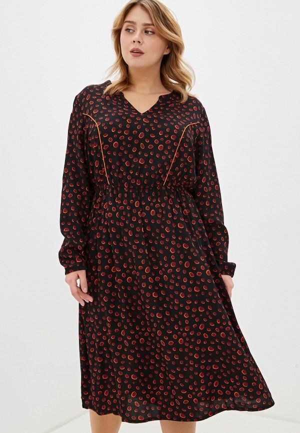 женское платье миди tom tailor, бордовое