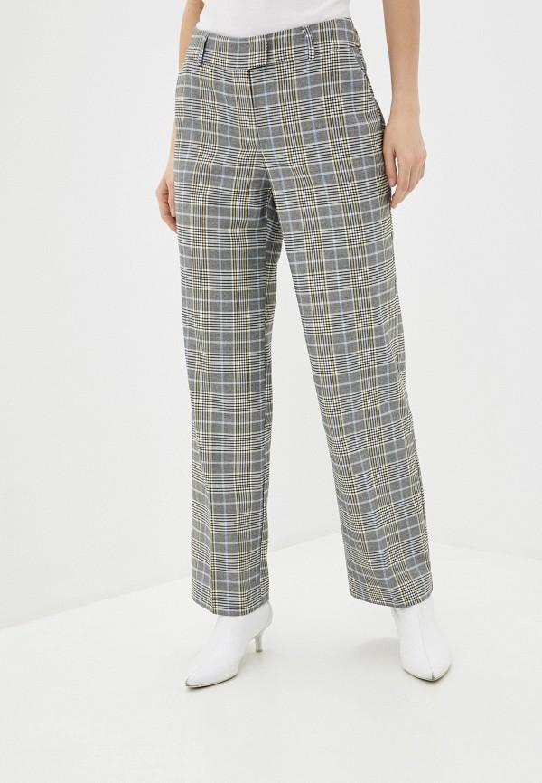 женские повседневные брюки tom tailor, серые
