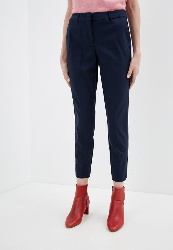 женские классические брюки tom tailor, синие