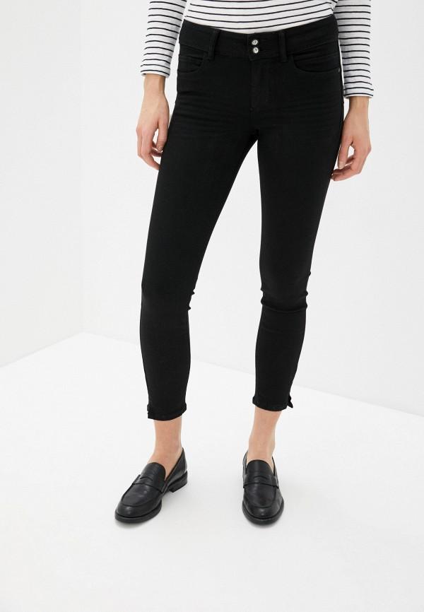женские джинсы tom tailor, черные