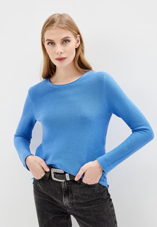 женский джемпер tom tailor, синий