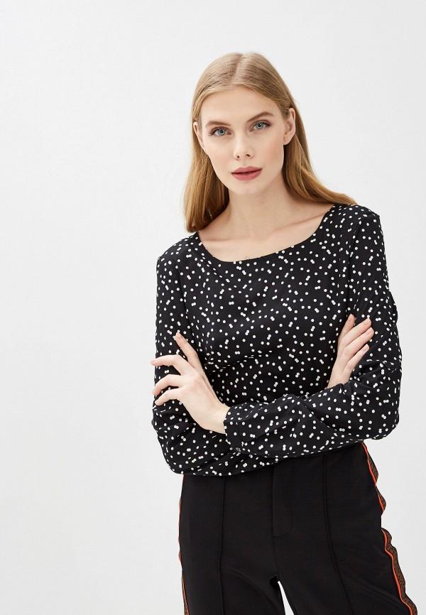 женская блузка tom tailor, черная