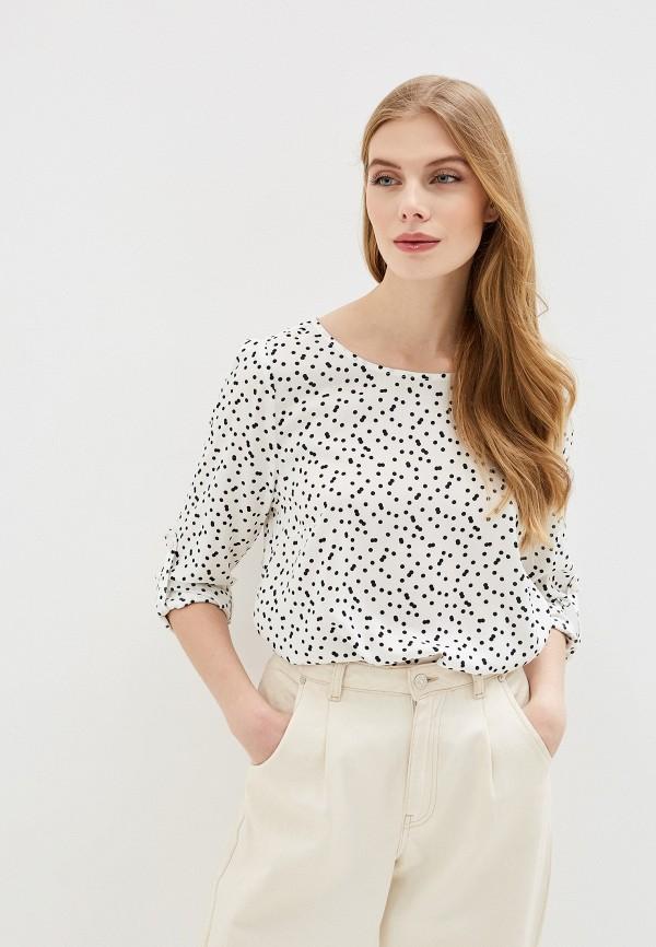 женская блузка tom tailor, белая