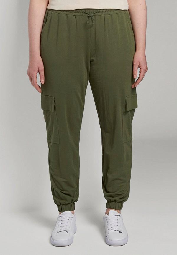 женские брюки tom tailor, хаки