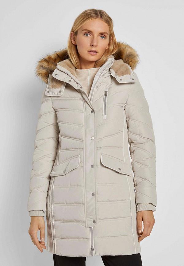 женская куртка tom tailor, бежевая