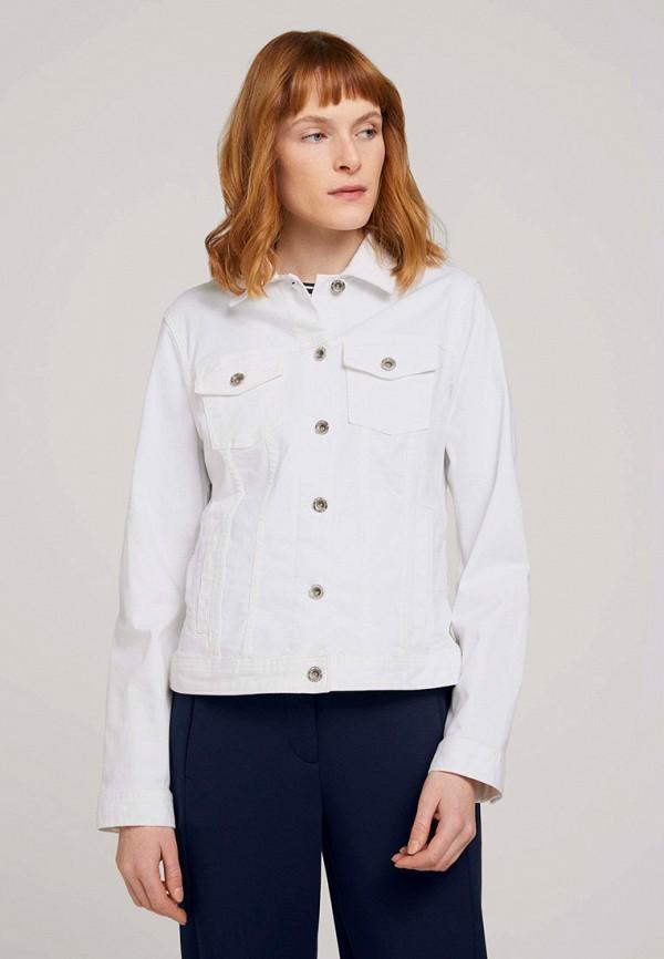 женская джинсовые куртка tom tailor