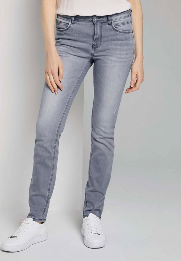 женские джинсы tom tailor, серые