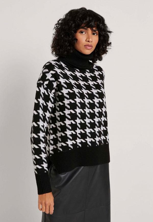 женский свитер tom tailor, черный
