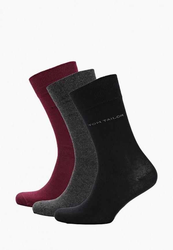 Носки  бордовый, серый, черный цвета