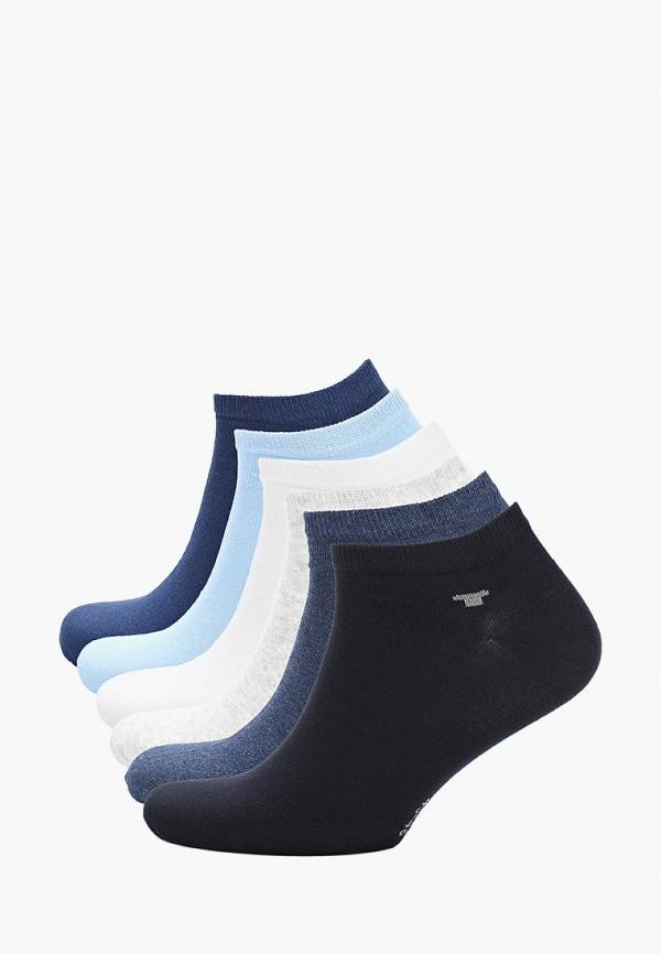Носки  белый, голубой, серый, синий, черный цвета