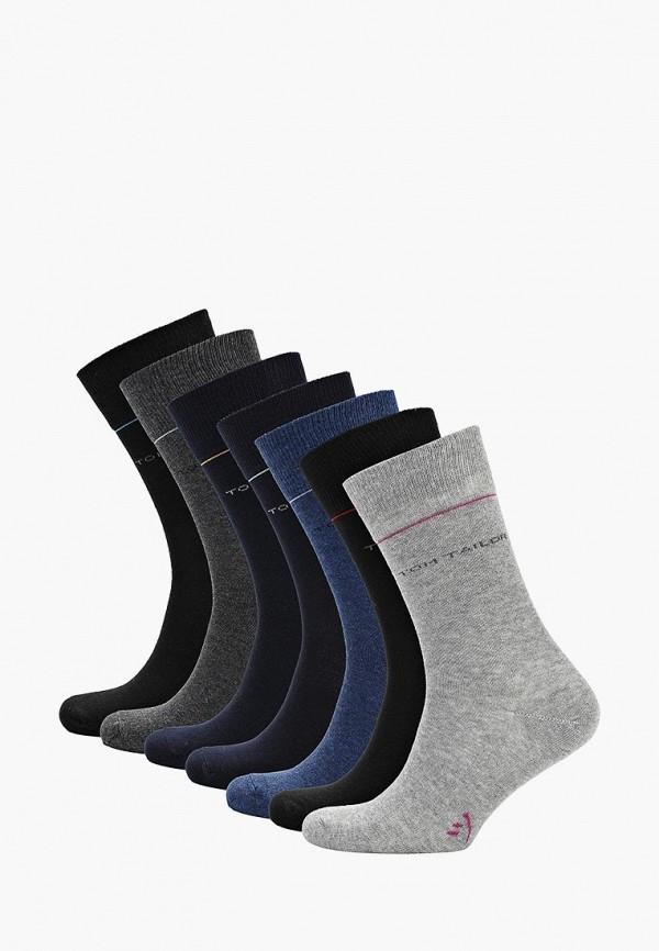 Носки  серый, синий, черный цвета