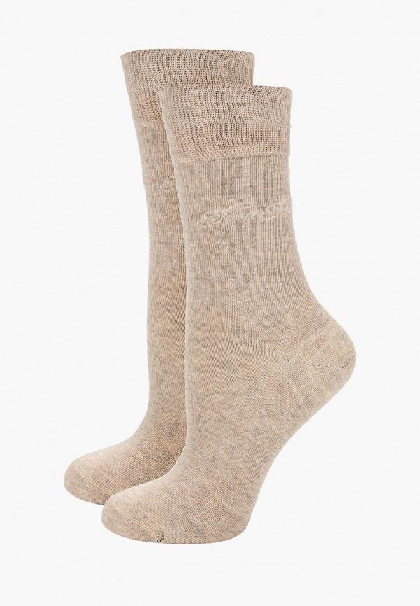 женские носки tom tailor, бежевые