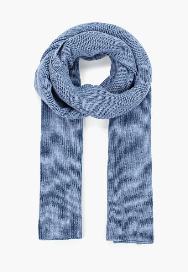 мужской шарф tom tailor, голубой
