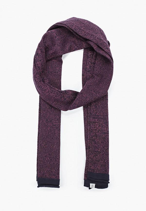 мужской шарф tom tailor, фиолетовый