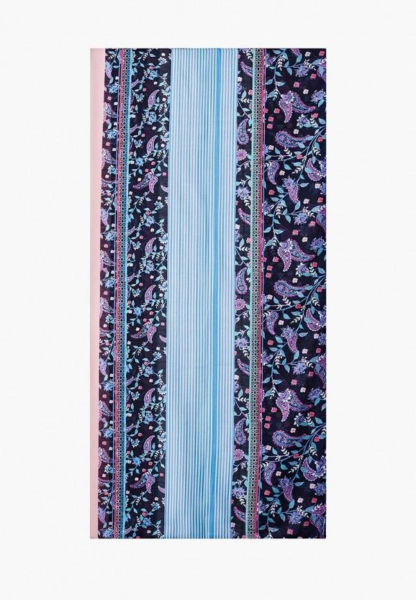 женский платок tom tailor, синий
