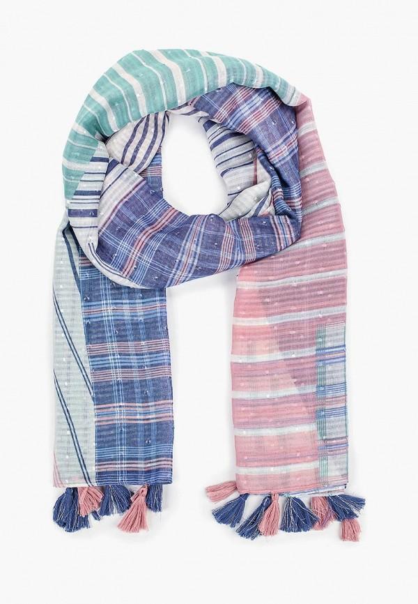 женский шарф tom tailor, розовый