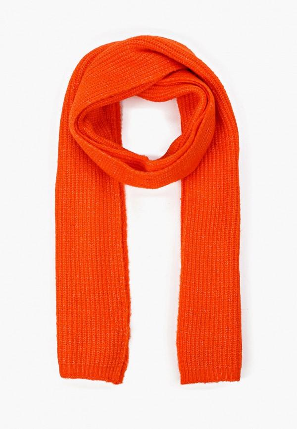 женский шарф tom tailor, оранжевый