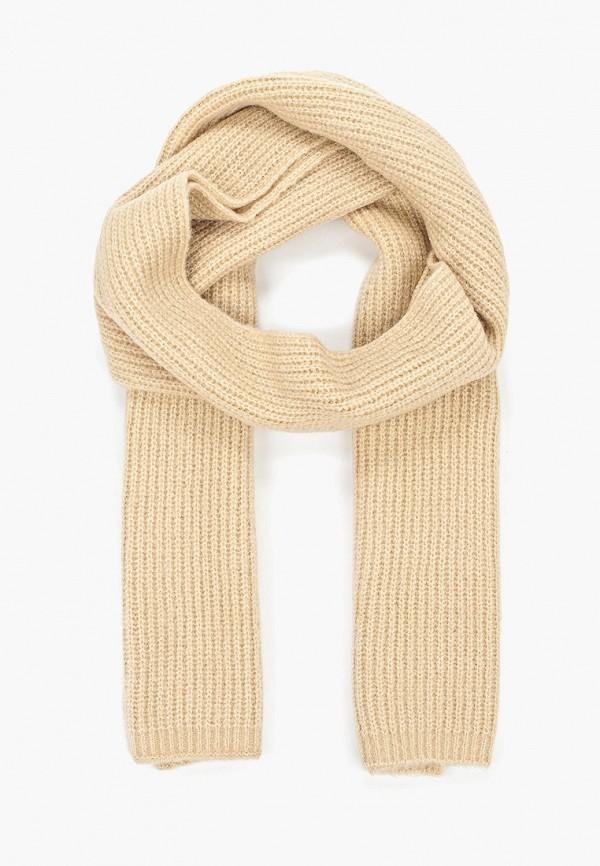 женский шарф tom tailor, бежевый