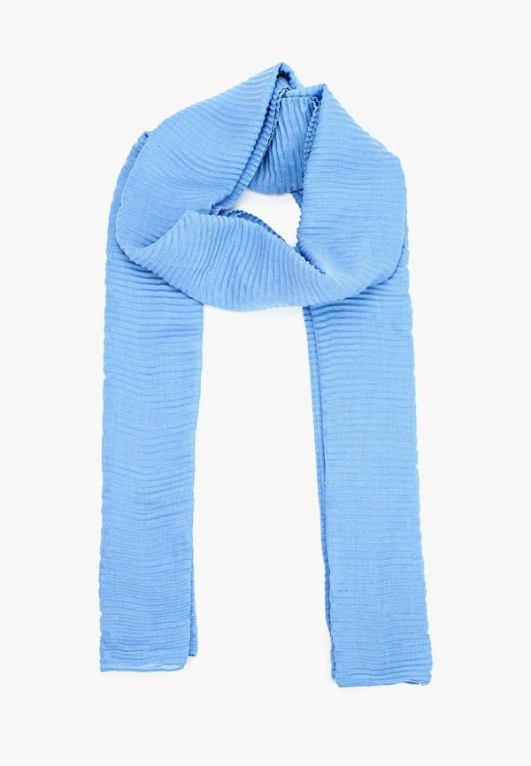 женский палантин tom tailor, синий