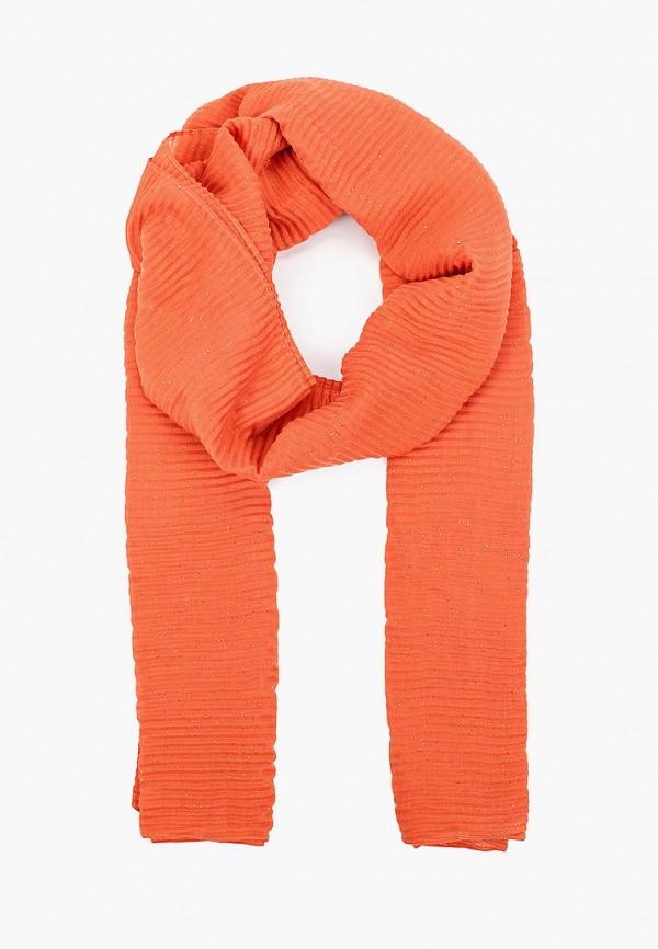 женский палантин tom tailor, оранжевый