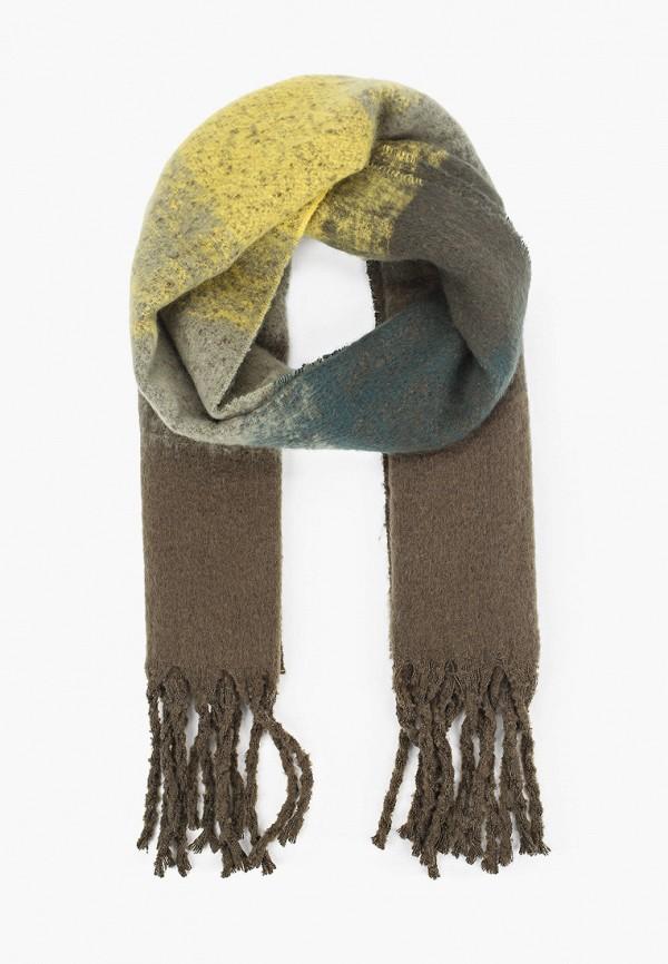 женский шарф tom tailor, разноцветный