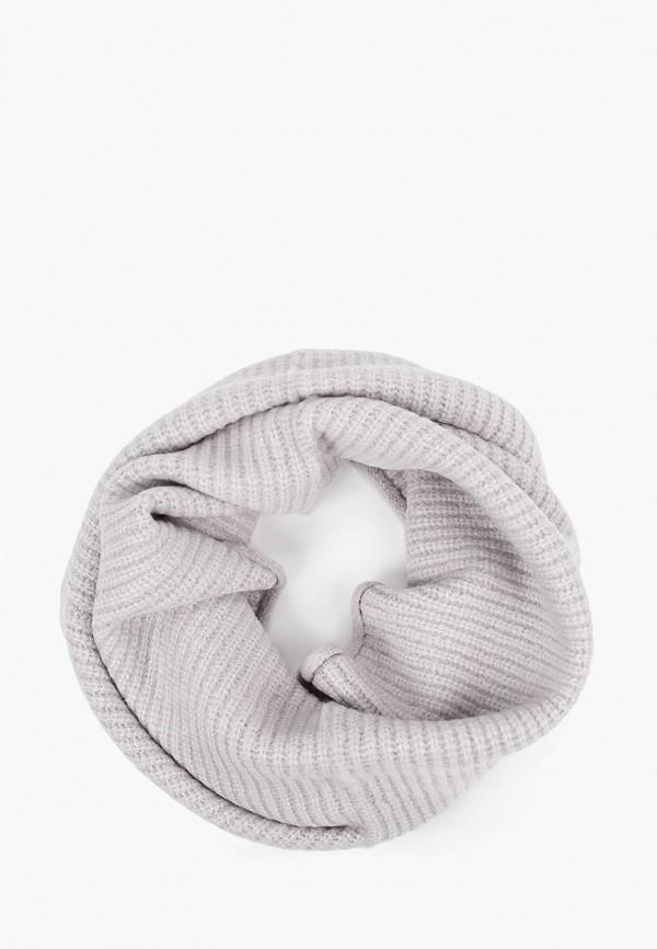 женский снуд tom tailor, серый