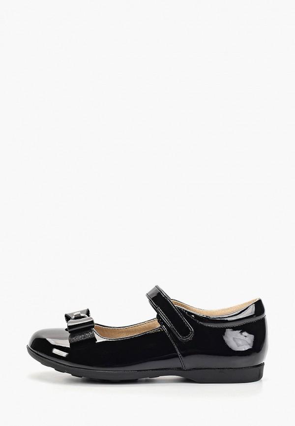 туфли tommy hilfiger для девочки, черные