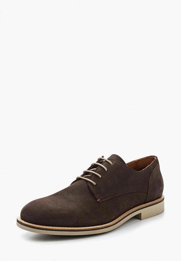 Купить Мужские туфли Tommy Hilfiger коричневого цвета
