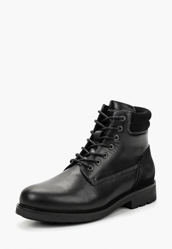 Купить Ботинки Tommy Hilfiger, to263ambhpp4, черный, Осень-зима 2018/2019