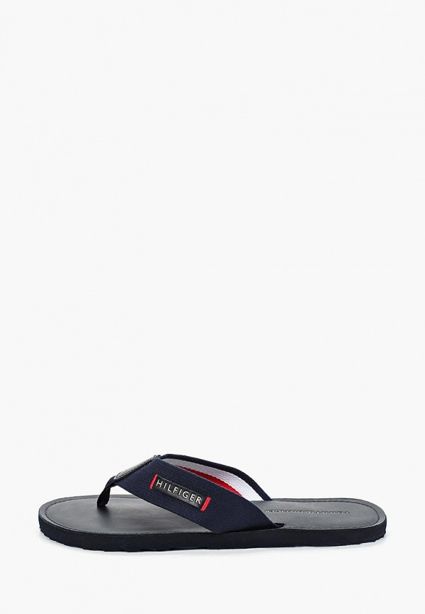мужские сандалии tommy hilfiger, синие