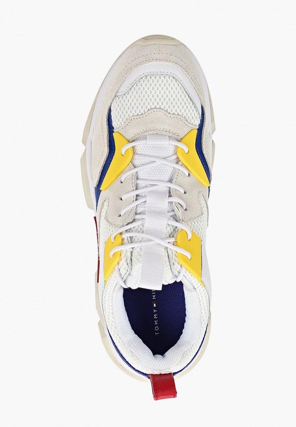 Фото 4 - мужские кроссовки Tommy Hilfiger белого цвета