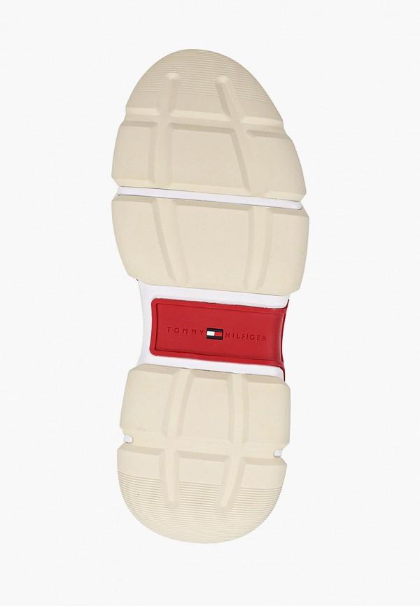 Фото 5 - мужские кроссовки Tommy Hilfiger белого цвета