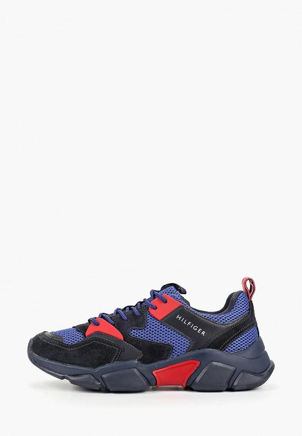 мужские кроссовки tommy hilfiger, синие