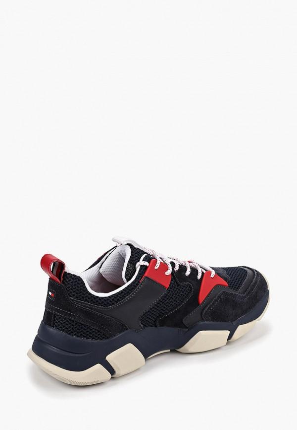 Фото 3 - Мужские кроссовки Tommy Hilfiger синего цвета